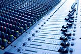 Mixing desk - blue