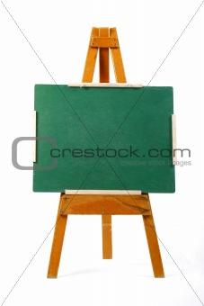 blank chalk board