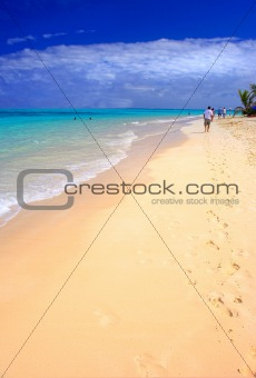 Beautiful Empty Beach