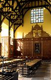 Dining hall at Cambridge University