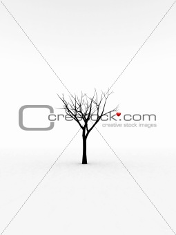 Single Tree With Love 7