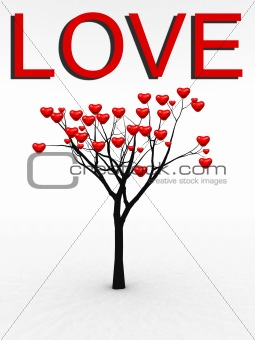 Single Tree With Love 25