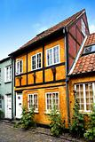 Old Danish houses