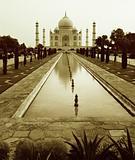 Taj Mahal sepia