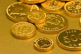 Gold Chocolate coins