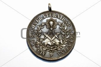 ancient freemasonry medal