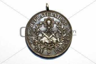 ancient freemasonry medal
