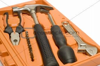 tool kit in box