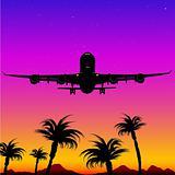 Aeroplane Silhouette 05
