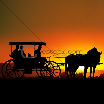 Carriage Silhouette A