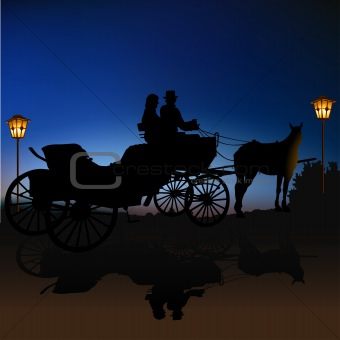 Carriage Silhouette B