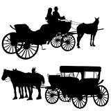 Silhouettes Carriage 1