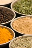 Various spice bowls