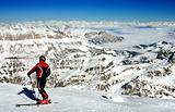 Ski resort Italy
