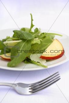 arugula apple and pecorino cheese salad