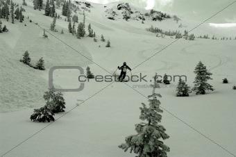 Avalanche terrain