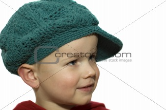 Little Boy with Hat 5