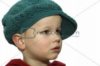 Little Boy with Hat 4