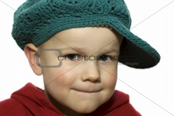 Little Boy with Hat 1