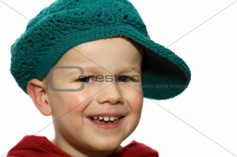 Little Boy with Hat 3