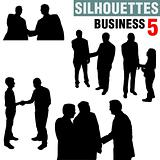 Silhouettes - Business 5