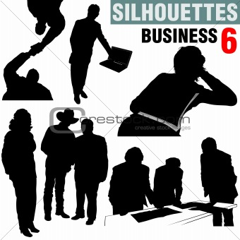 Silhouettes - Business 6
