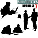 Silhouettes - Business 7