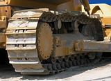Bulldozer track.