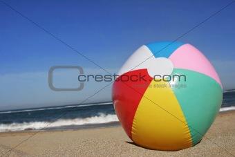 Beachball on Beach