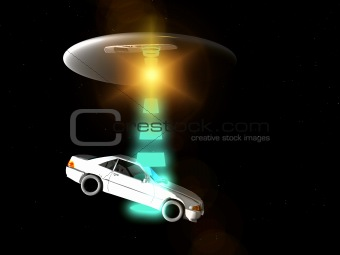 Car And UFO 65