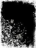 Floral grunge - vector