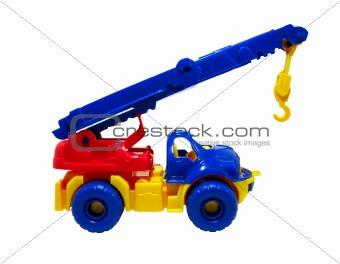 car crane clipping path