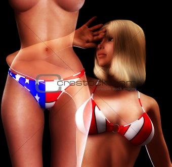 Sexy USA Women 7