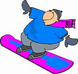 Snowboarder