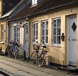 Houses Ribe Denmark