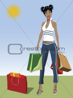BLACK SHOPPER
