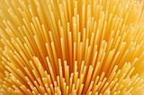 uncooked spaghettis