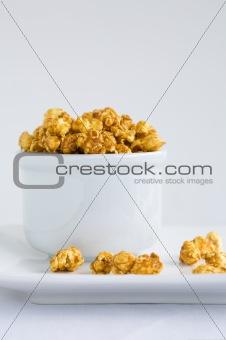 Carmel covered popcorn