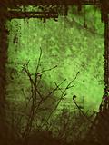Grunge Style Winter background