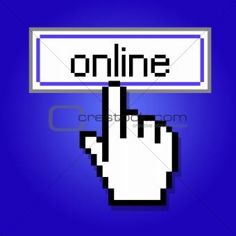 Hand cursor design