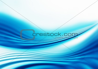 Blue Abstract Lines