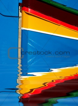 Fishing Boat Abstract