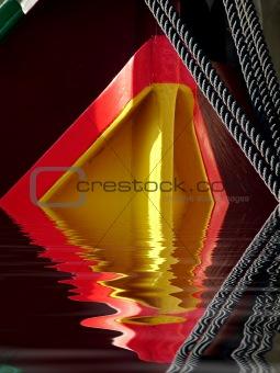 Fishing Boat Abstract