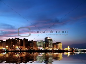 City Coast by Night