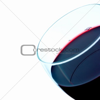 Red wine detail