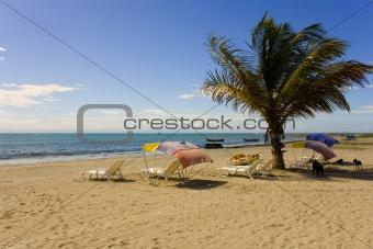 Beach on island Margarita, Venezuela
