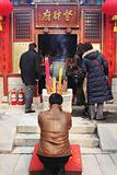 Chinese New Year celebrations and prayers (Year of the Pig).