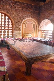 Arab living room