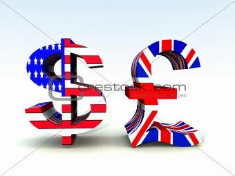 British Pound And US Dollar 20