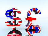 British Pound And US Dollar 21